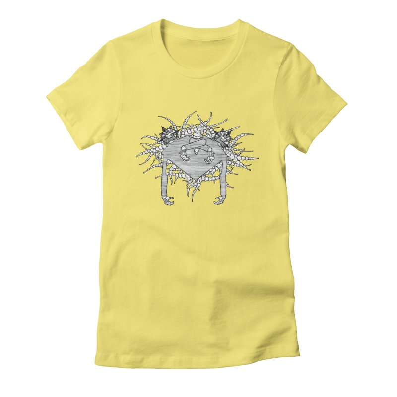 Rorschach Women's Fitted T-Shirt by Katiecrimespree's Ye Olde Shirt Shoppe