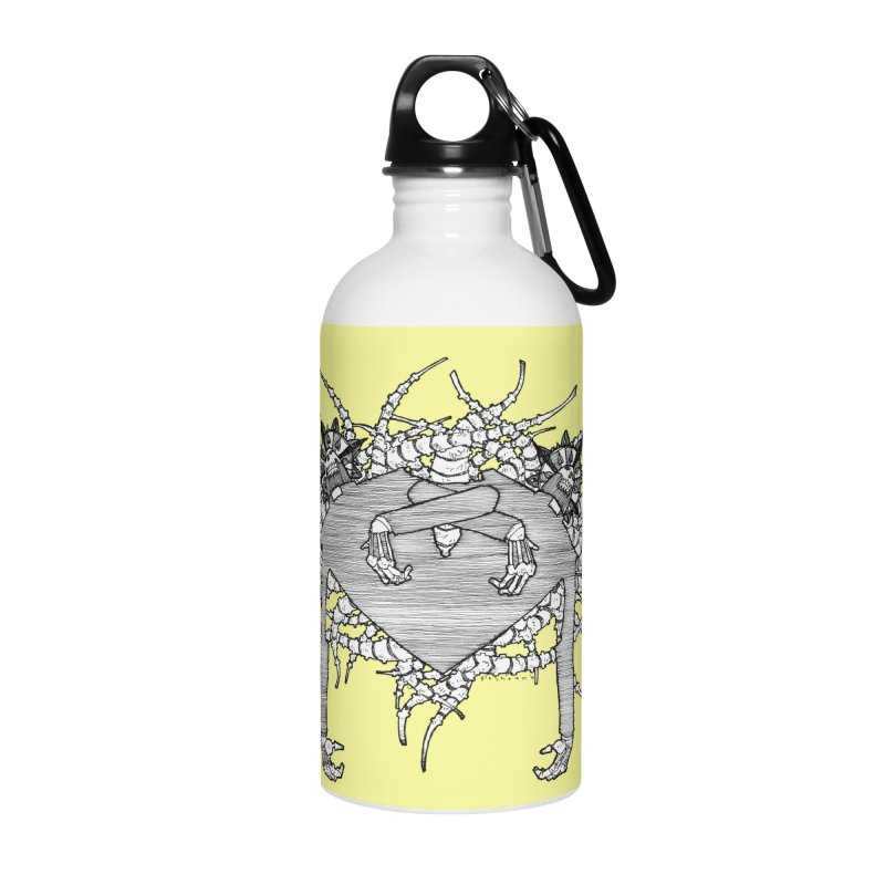 Rorschach Accessories Water Bottle by Katiecrimespree's Ye Olde Shirt Shoppe
