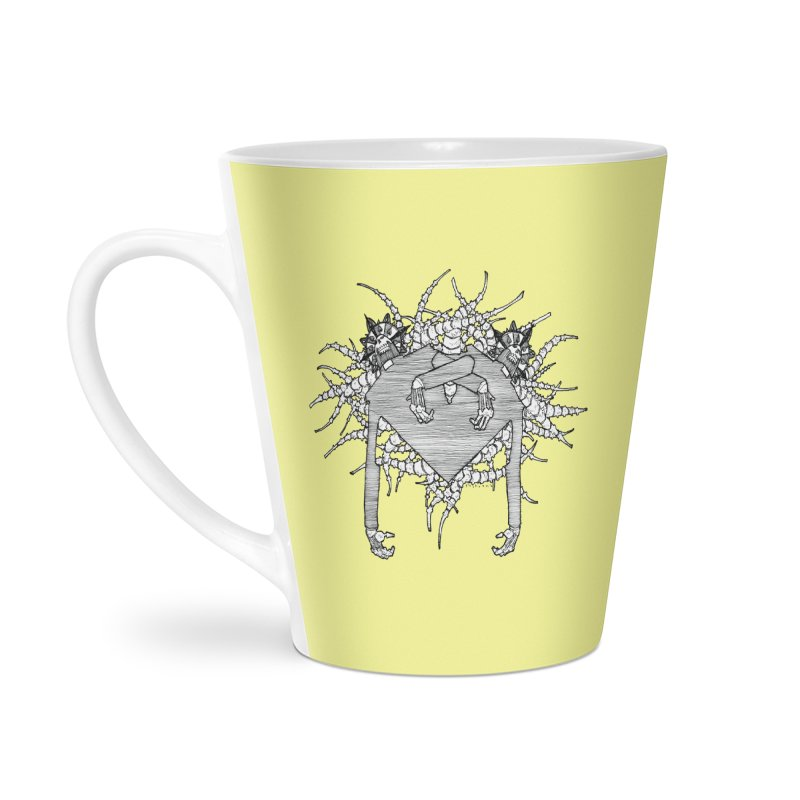 Rorschach Accessories Latte Mug by Katiecrimespree's Ye Olde Shirt Shoppe