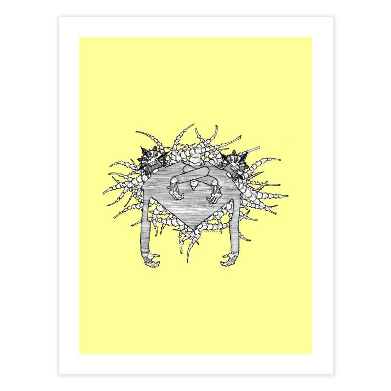 Rorschach Home Fine Art Print by Katiecrimespree's Ye Olde Shirt Shoppe
