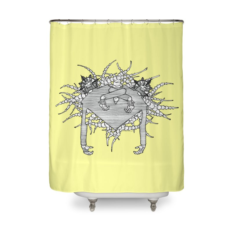 Rorschach Home Shower Curtain by Katiecrimespree's Ye Olde Shirt Shoppe
