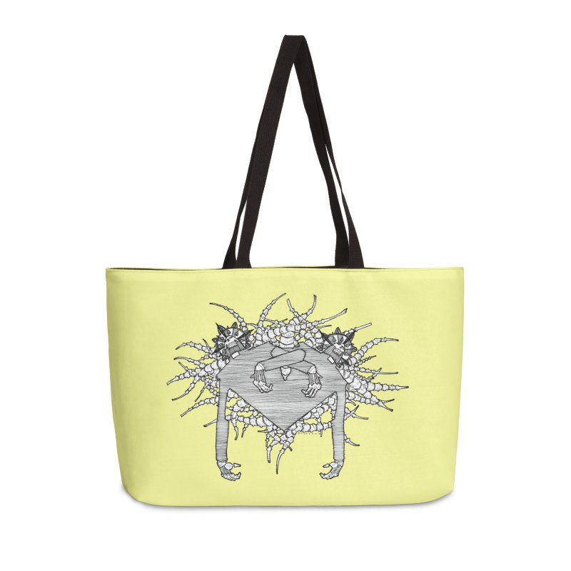 Rorschach Accessories Weekender Bag Bag by Katiecrimespree's Ye Olde Shirt Shoppe