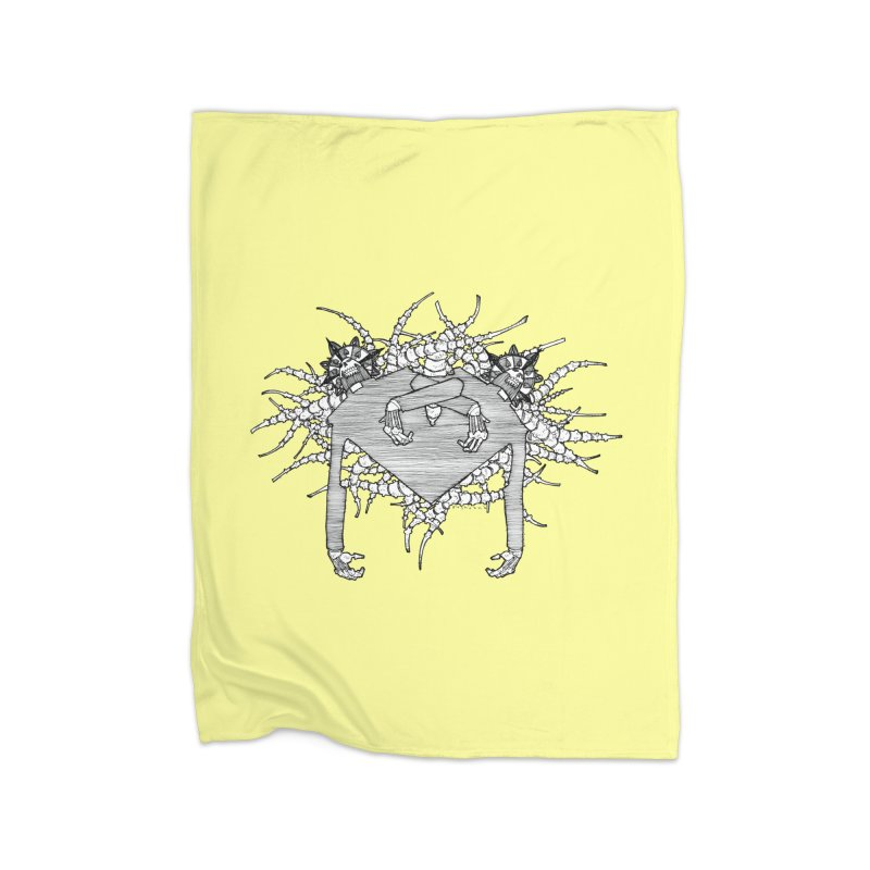 Rorschach Home Blanket by Katiecrimespree's Ye Olde Shirt Shoppe