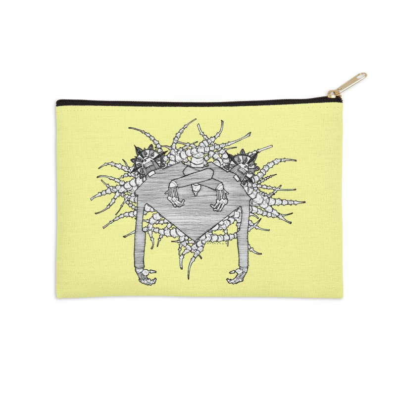 Rorschach Accessories Zip Pouch by Katiecrimespree's Ye Olde Shirt Shoppe