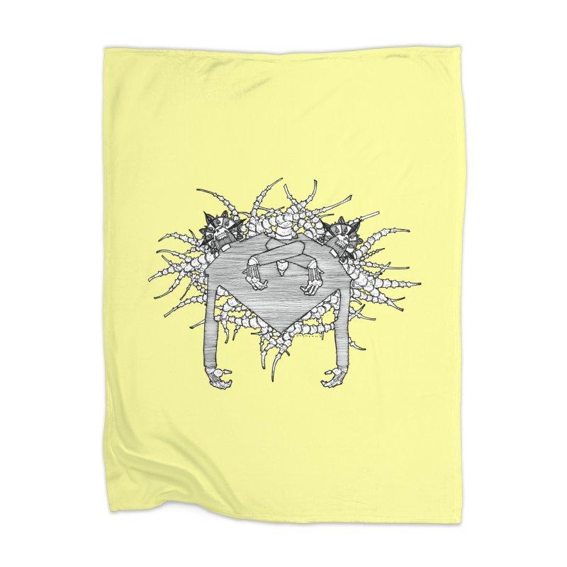 Rorschach Home Blanket by Katiecrimespree's Ye Olde Shirt Shoppe