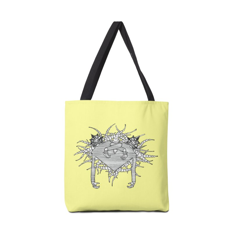 Rorschach Accessories Bag by Katiecrimespree's Ye Olde Shirt Shoppe
