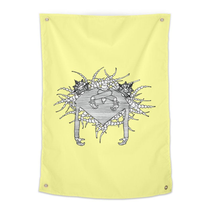 Rorschach Home Tapestry by Katiecrimespree's Ye Olde Shirt Shoppe