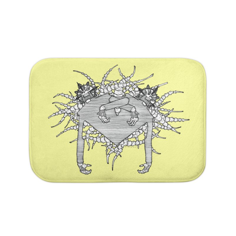 Rorschach Home Bath Mat by Katiecrimespree's Ye Olde Shirt Shoppe