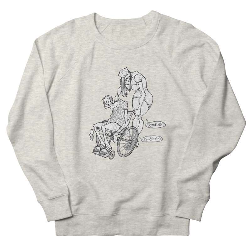 Symbiotic Symbiosis Men's Sweatshirt by Katiecrimespree's Ye Olde Shirt Shoppe
