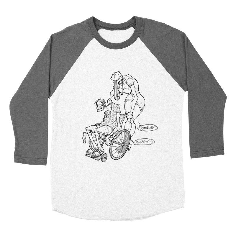 Symbiotic Symbiosis Women's Longsleeve T-Shirt by Katiecrimespree's Ye Olde Shirt Shoppe