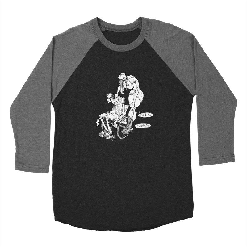 Symbiotic Symbiosis Women's Baseball Triblend Longsleeve T-Shirt by Katiecrimespree's Ye Olde Shirt Shoppe