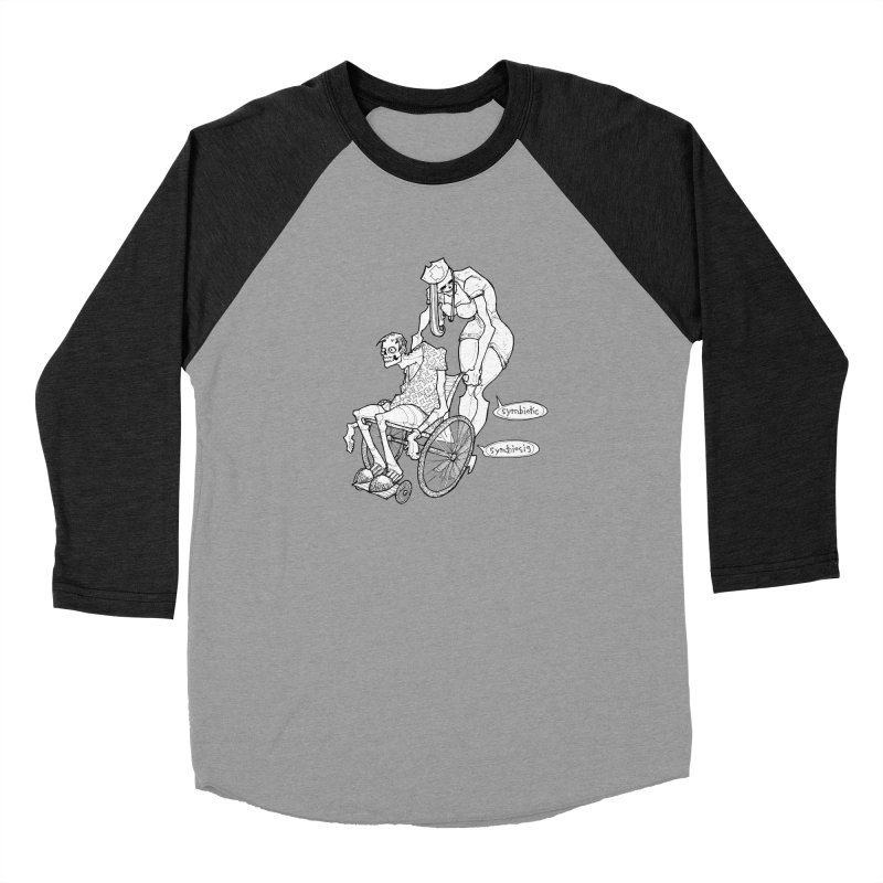 Symbiotic Symbiosis Men's Longsleeve T-Shirt by Katiecrimespree's Ye Olde Shirt Shoppe