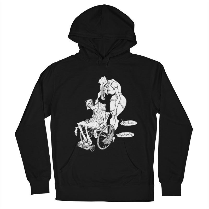 Symbiotic Symbiosis Men's French Terry Pullover Hoody by Katiecrimespree's Ye Olde Shirt Shoppe