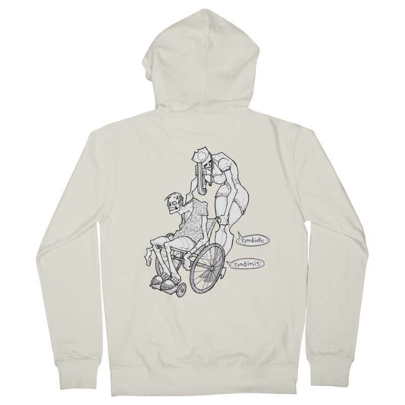Symbiotic Symbiosis Women's French Terry Zip-Up Hoody by Katiecrimespree's Ye Olde Shirt Shoppe