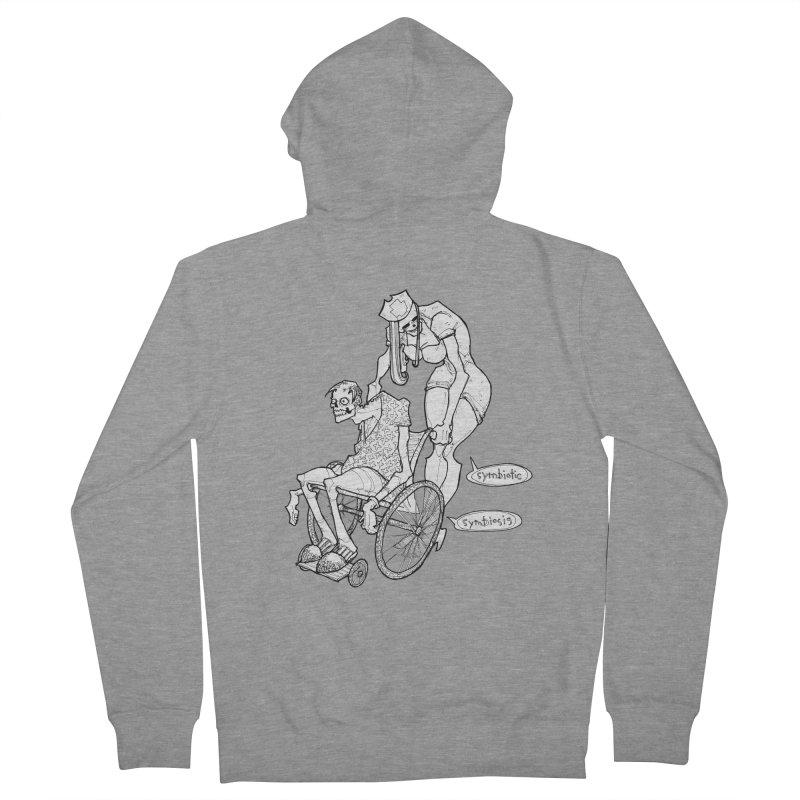 Symbiotic Symbiosis Men's Zip-Up Hoody by Katiecrimespree's Ye Olde Shirt Shoppe