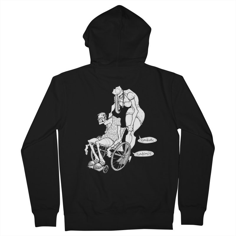 Symbiotic Symbiosis Men's French Terry Zip-Up Hoody by Katiecrimespree's Ye Olde Shirt Shoppe
