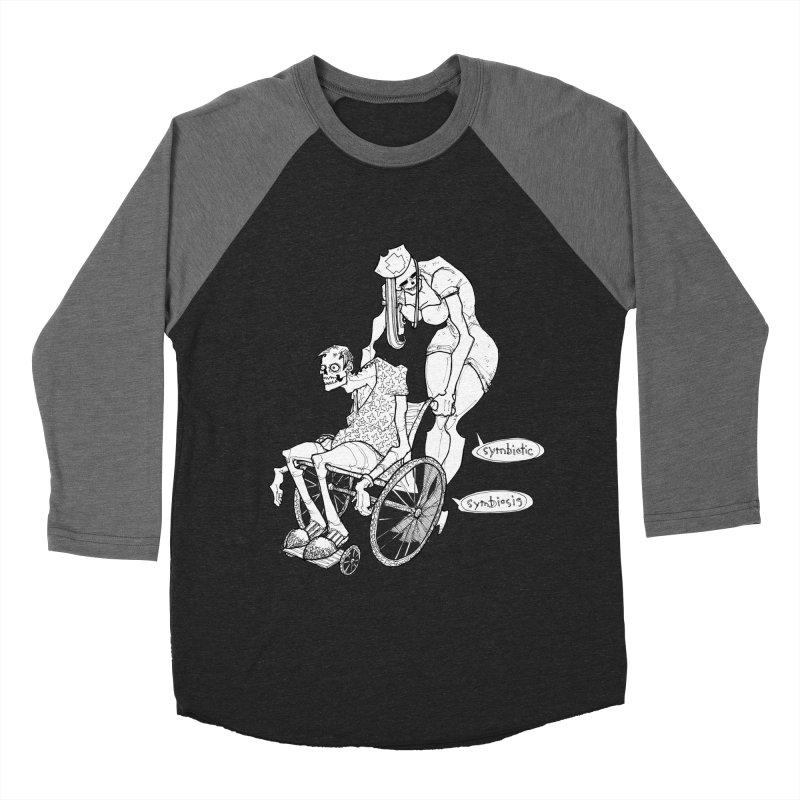 Symbiotic Symbiosis Women's Baseball Triblend T-Shirt by Katiecrimespree's Ye Olde Shirt Shoppe