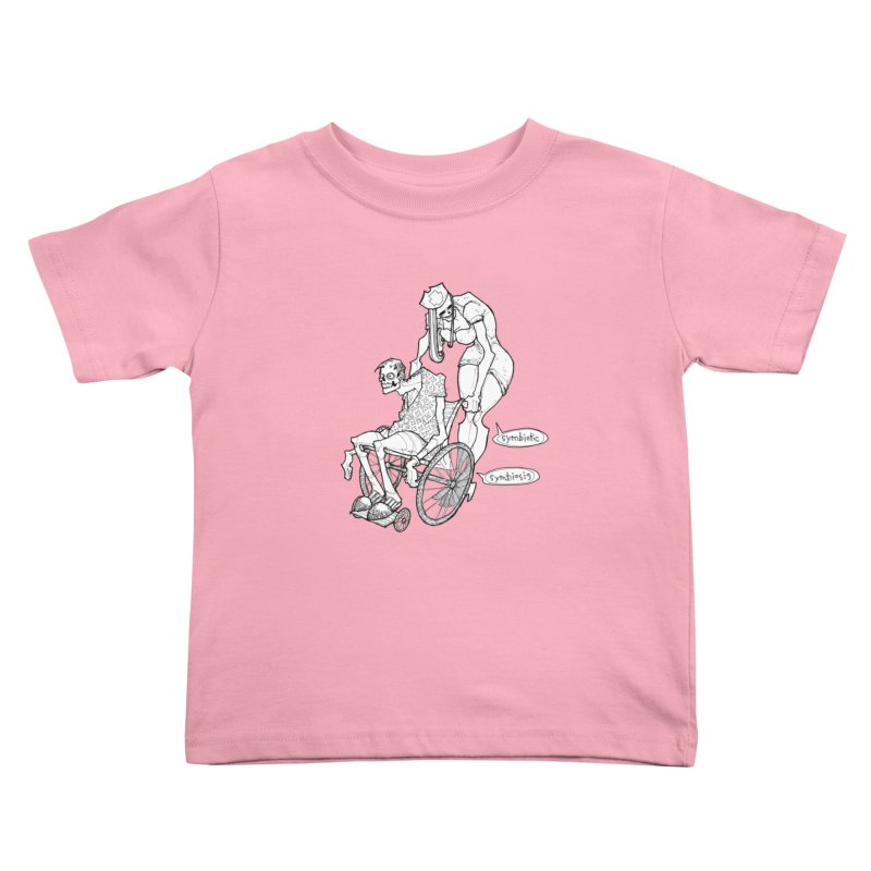 Symbiotic Symbiosis Kids Toddler T-Shirt by Katiecrimespree's Ye Olde Shirt Shoppe
