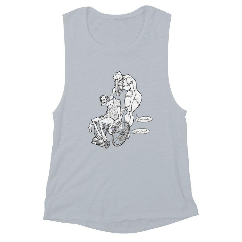 Symbiotic Symbiosis Women's Tank by Katiecrimespree's Ye Olde Shirt Shoppe