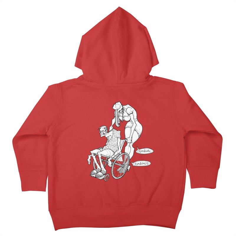 Symbiotic Symbiosis Kids Toddler Zip-Up Hoody by Katiecrimespree's Ye Olde Shirt Shoppe