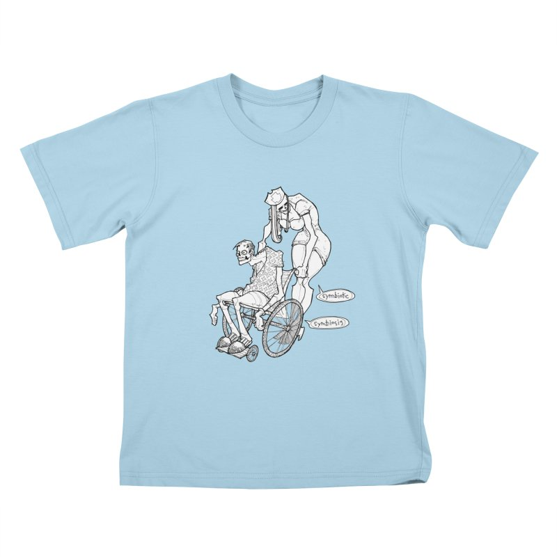 Symbiotic Symbiosis Kids T-Shirt by Katiecrimespree's Ye Olde Shirt Shoppe