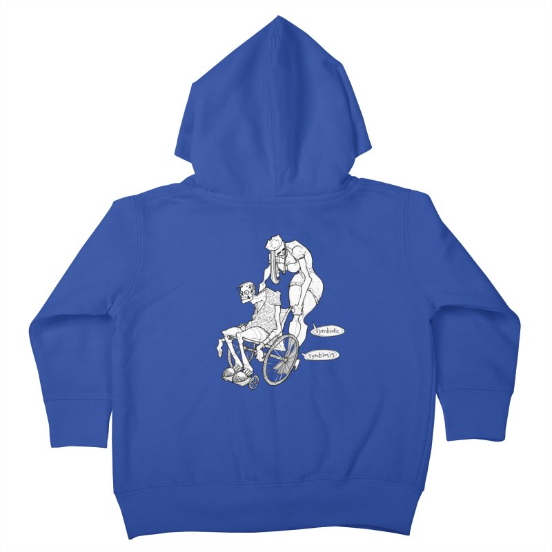 Symbiotic Symbiosis Kids Toddler Zip-Up Hoody by Katiecrimespree's Ye Olde Shirt Shoppe