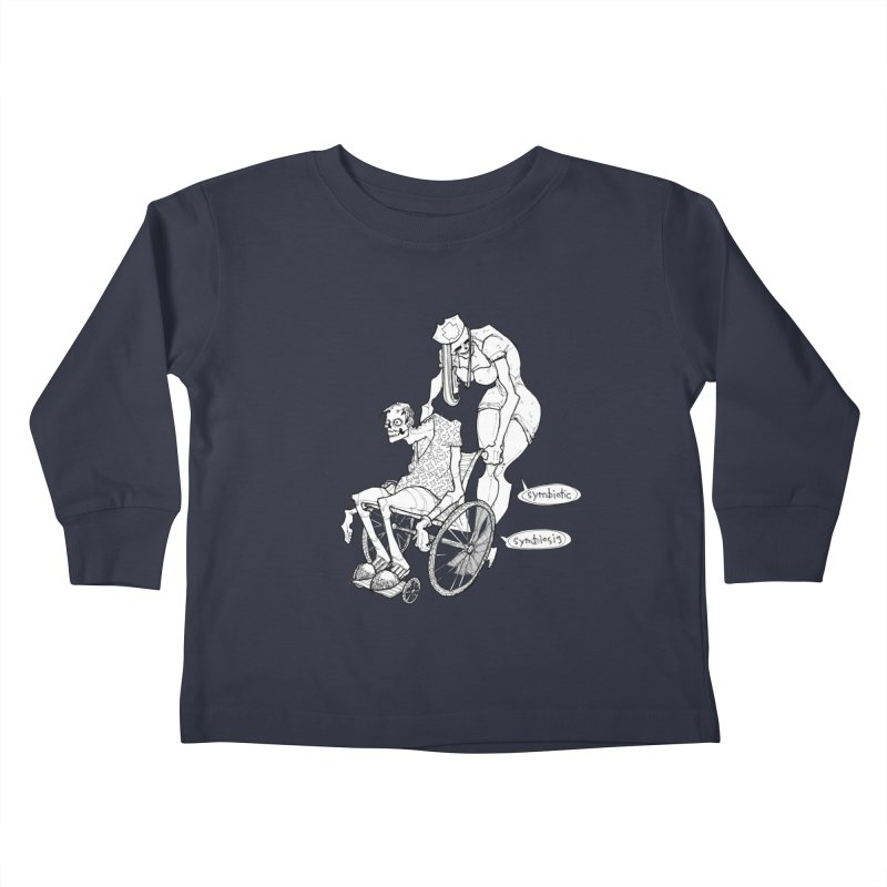 Symbiotic Symbiosis Kids Toddler Longsleeve T-Shirt by Katiecrimespree's Ye Olde Shirt Shoppe