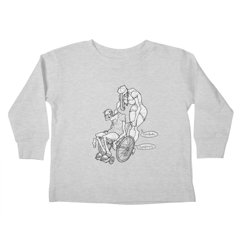 Symbiotic Symbiosis Kids Toddler Longsleeve T-Shirt by Katiecrimespree's Ye Olde Shirt Shoppe