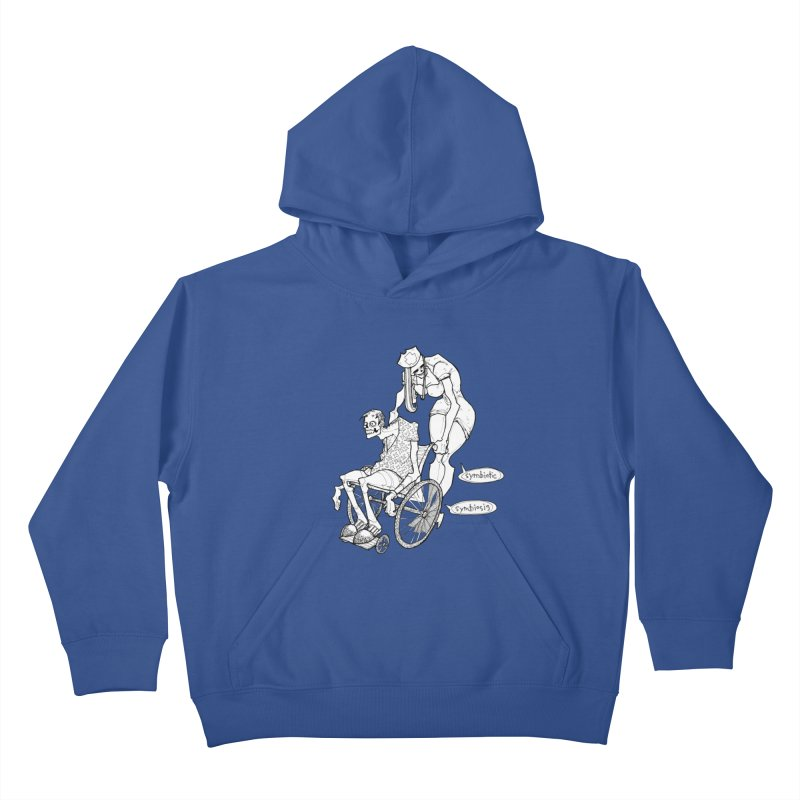 Symbiotic Symbiosis Kids Pullover Hoody by Katiecrimespree's Ye Olde Shirt Shoppe