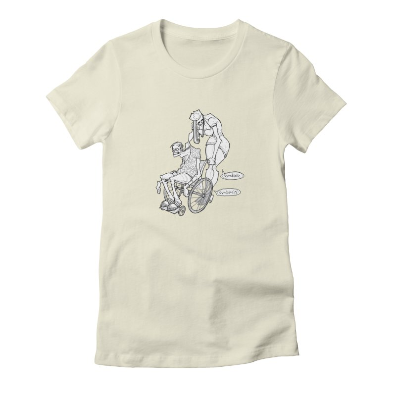 Symbiotic Symbiosis Women's T-Shirt by Katiecrimespree's Ye Olde Shirt Shoppe