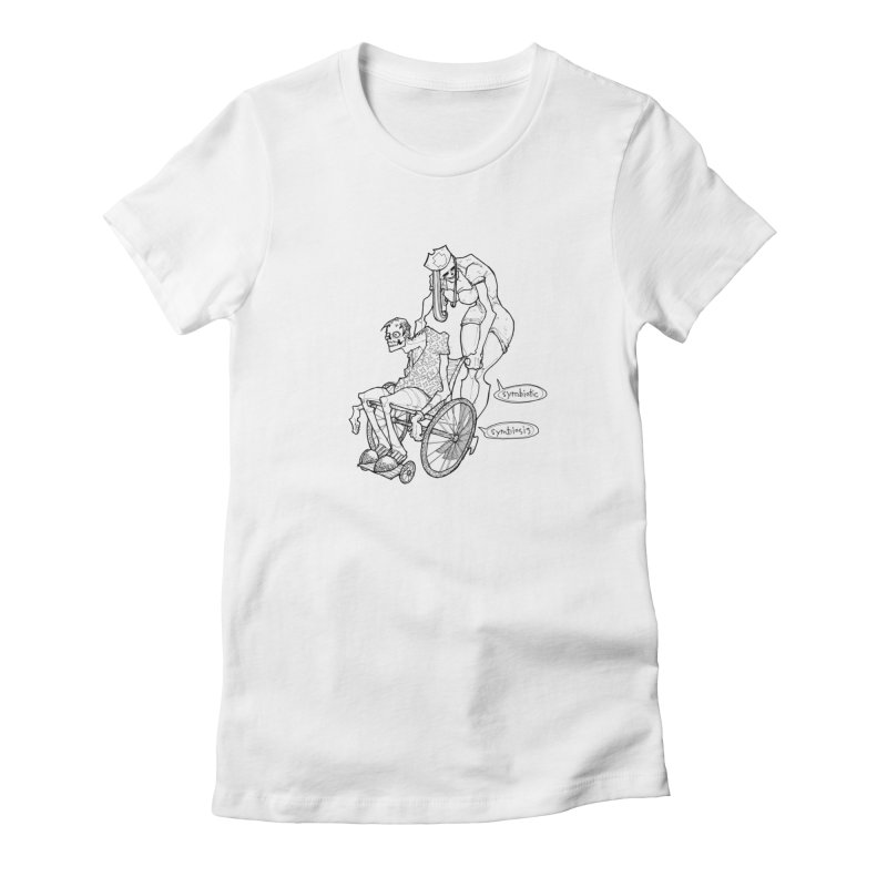 Symbiotic Symbiosis Women's T-Shirt by Katiecrimespree's Ye Olde Shirt Shoppe