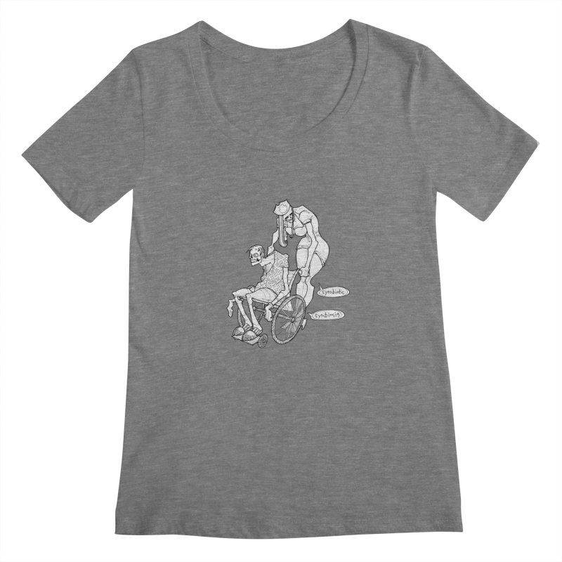 Symbiotic Symbiosis Women's  by Katiecrimespree's Ye Olde Shirt Shoppe