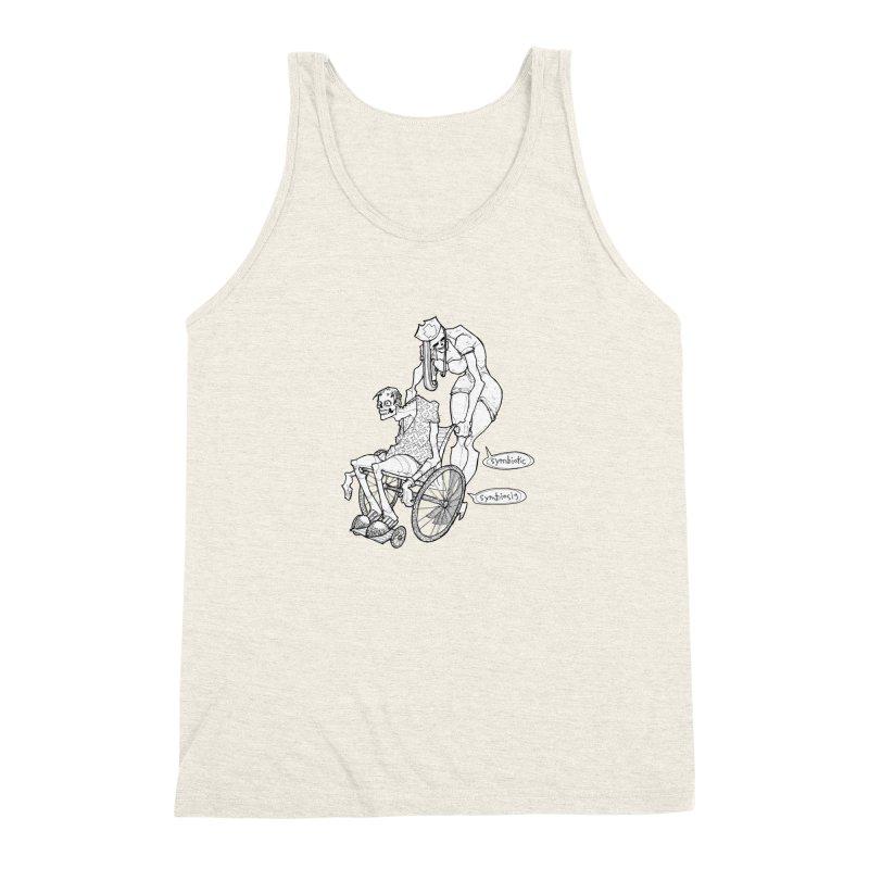 Symbiotic Symbiosis Men's Triblend Tank by Katiecrimespree's Ye Olde Shirt Shoppe