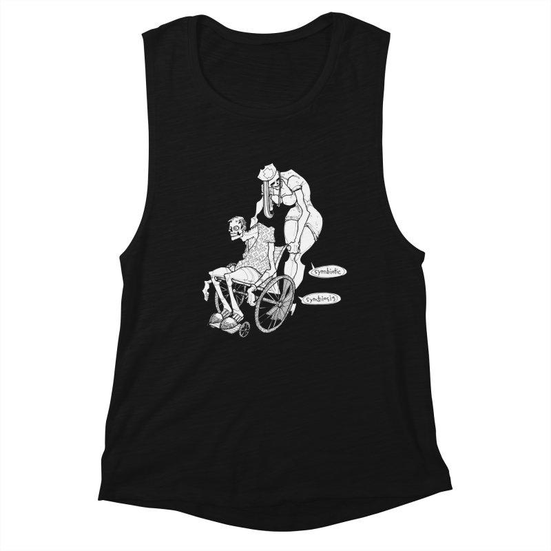 Symbiotic Symbiosis Women's Muscle Tank by Katiecrimespree's Ye Olde Shirt Shoppe