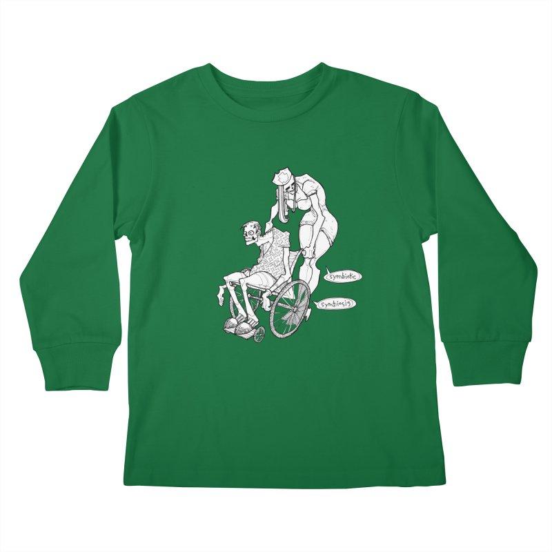 Symbiotic Symbiosis Kids Longsleeve T-Shirt by Katiecrimespree's Ye Olde Shirt Shoppe