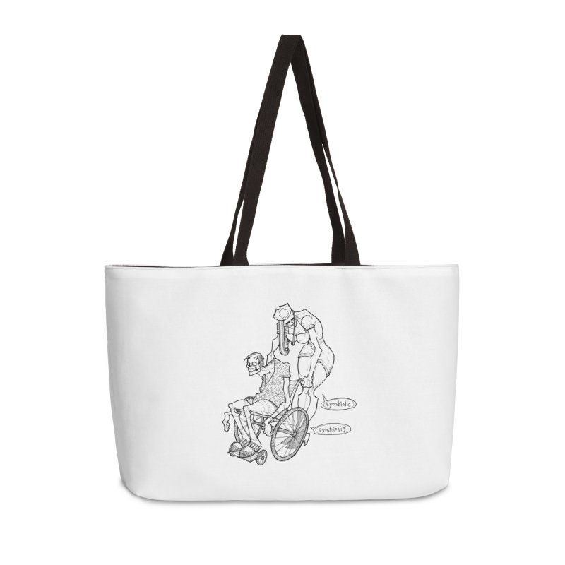 Symbiotic Symbiosis Accessories Weekender Bag Bag by Katiecrimespree's Ye Olde Shirt Shoppe