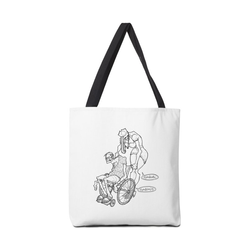 Symbiotic Symbiosis Accessories Tote Bag Bag by Katiecrimespree's Ye Olde Shirt Shoppe