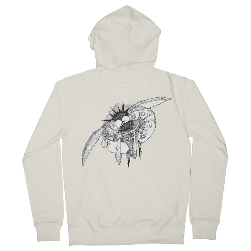 Reciprocate Men's Zip-Up Hoody by Katiecrimespree's Ye Olde Shirt Shoppe