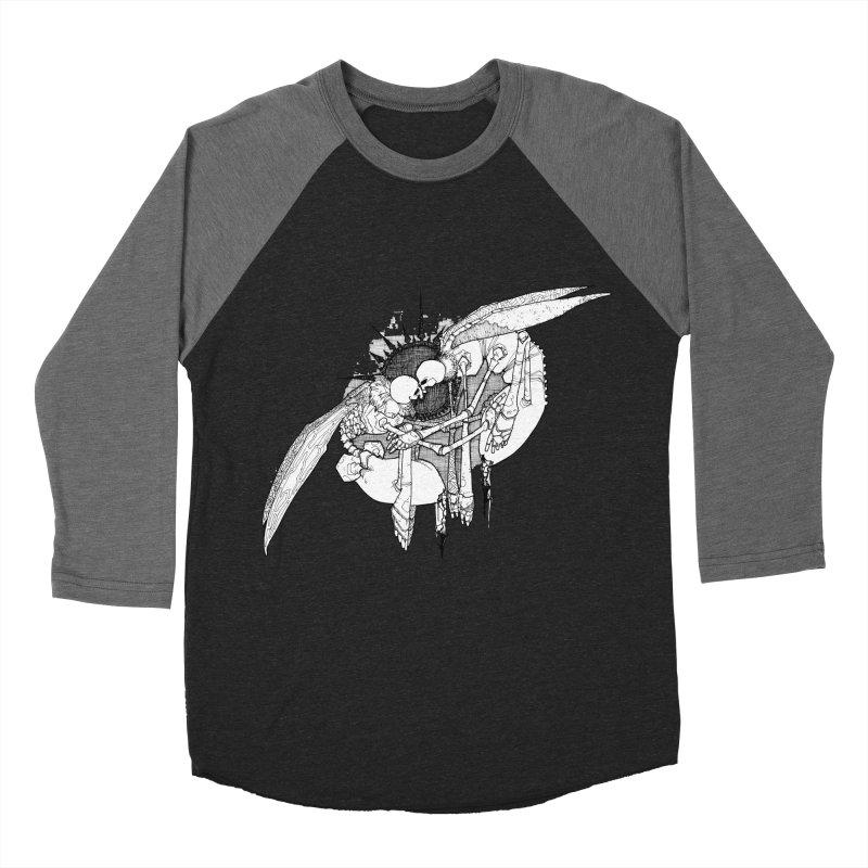 Reciprocate Men's Baseball Triblend Longsleeve T-Shirt by Katiecrimespree's Ye Olde Shirt Shoppe