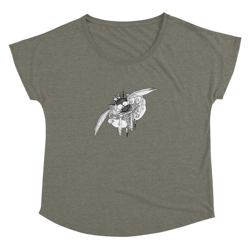 Reciprocate Women's Dolman Scoop Neck by Katiecrimespree's Ye Olde Shirt Shoppe