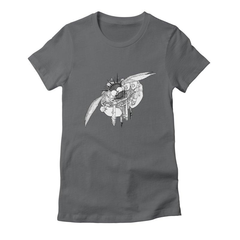 Reciprocate Women's Fitted T-Shirt by Katiecrimespree's Ye Olde Shirt Shoppe