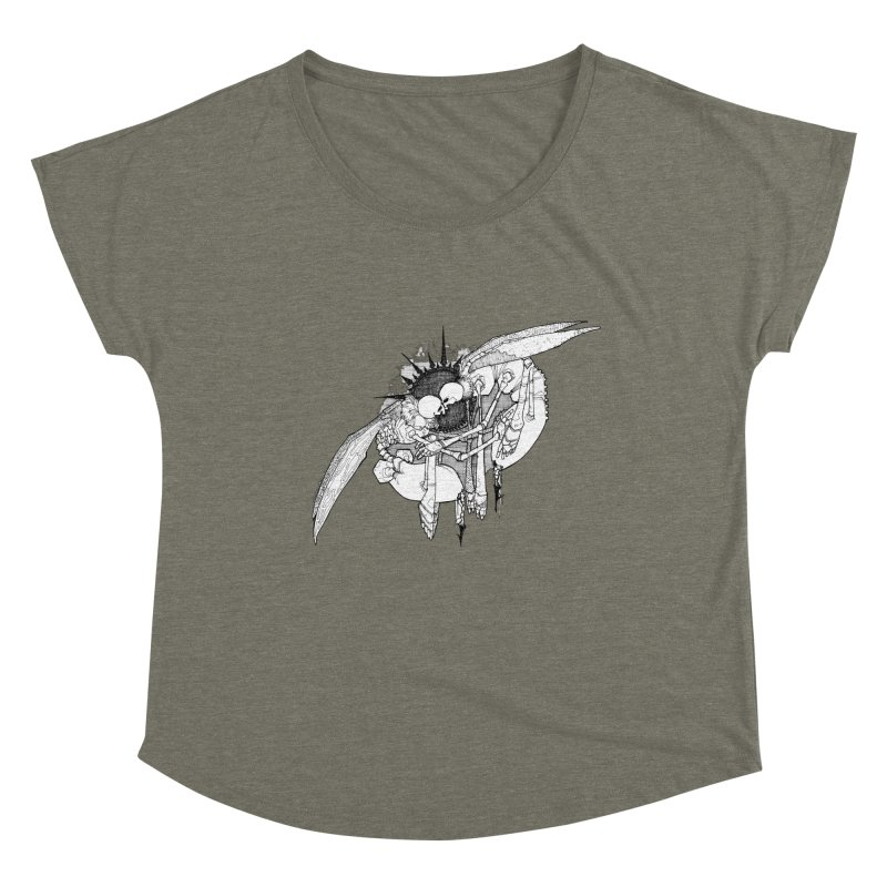 Reciprocate Women's Scoop Neck by Katiecrimespree's Ye Olde Shirt Shoppe
