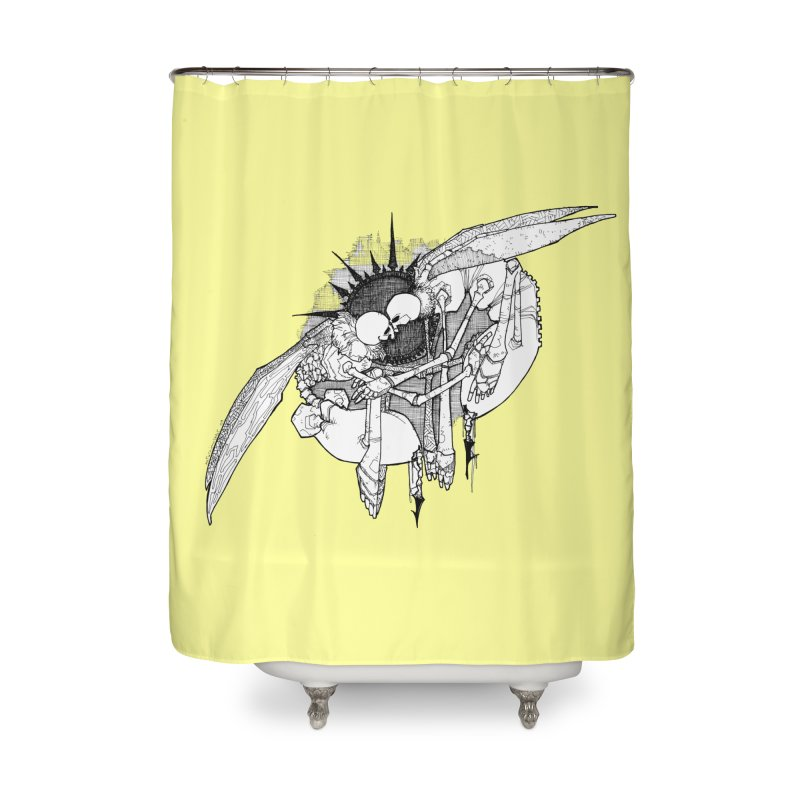Reciprocate Home Shower Curtain by Katiecrimespree's Ye Olde Shirt Shoppe