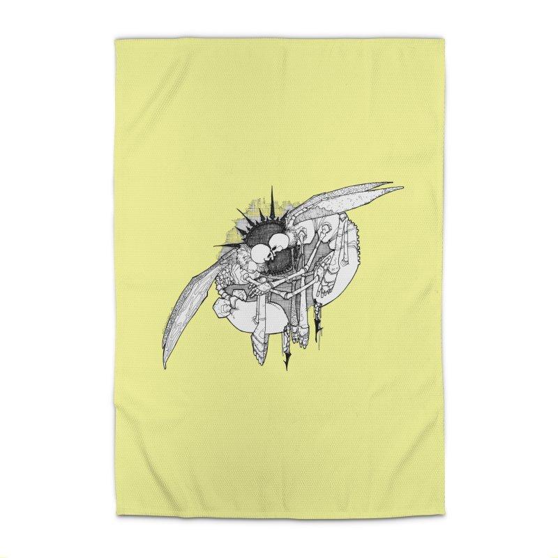Reciprocate Home Rug by Katiecrimespree's Ye Olde Shirt Shoppe