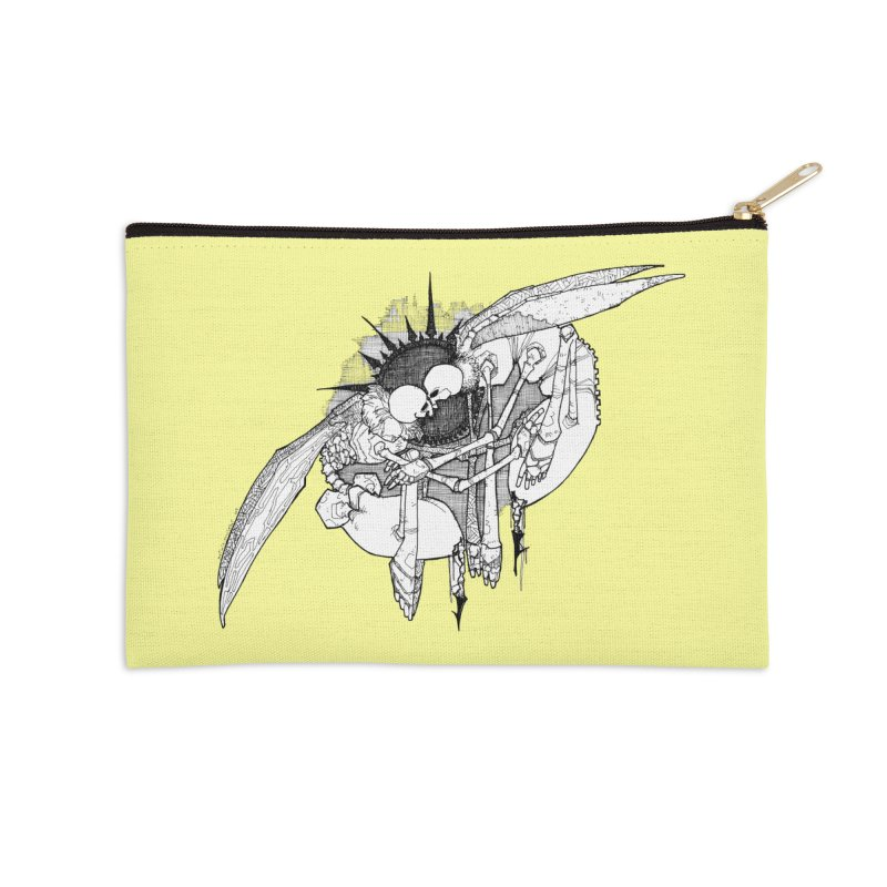 Reciprocate Accessories Zip Pouch by Katiecrimespree's Ye Olde Shirt Shoppe