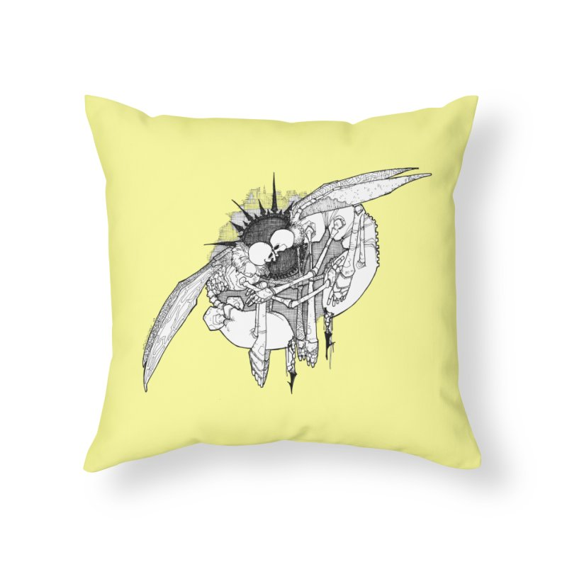 Reciprocate Home Throw Pillow by Katiecrimespree's Ye Olde Shirt Shoppe