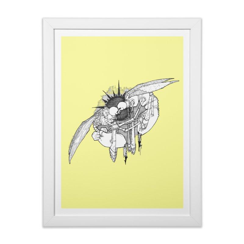 Reciprocate Home Framed Fine Art Print by Katiecrimespree's Ye Olde Shirt Shoppe
