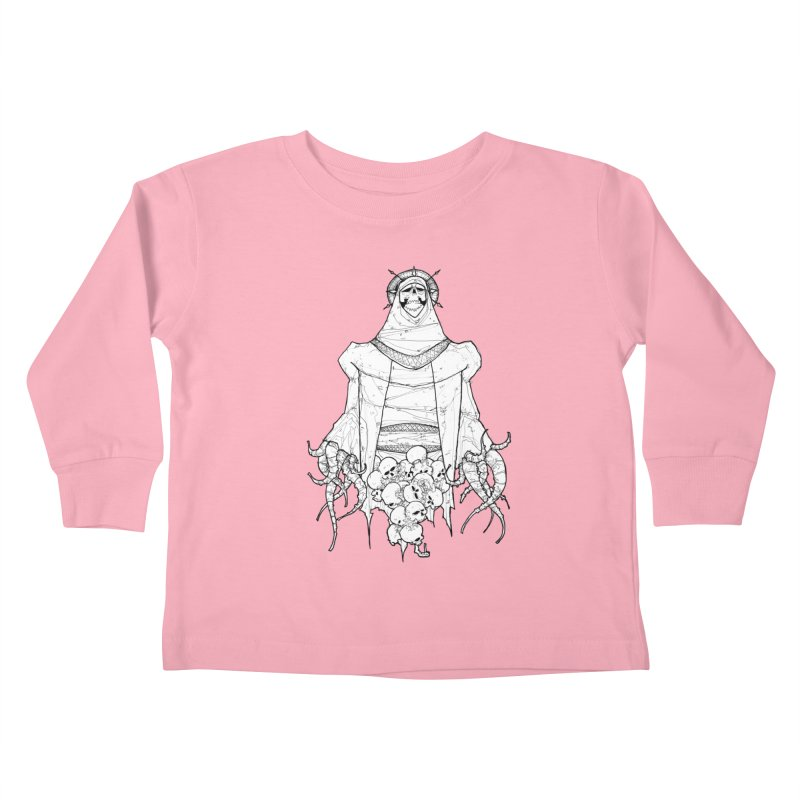 Preaching to Chiors Kids Toddler Longsleeve T-Shirt by Katiecrimespree's Ye Olde Shirt Shoppe