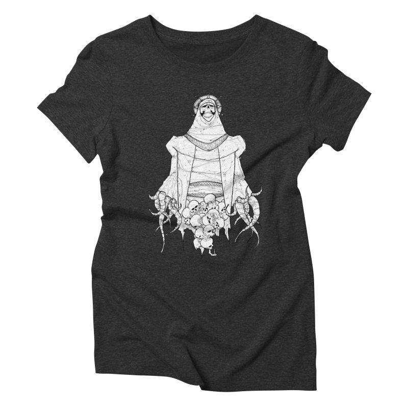 Preaching to Chiors Women's Triblend T-Shirt by Katiecrimespree's Ye Olde Shirt Shoppe