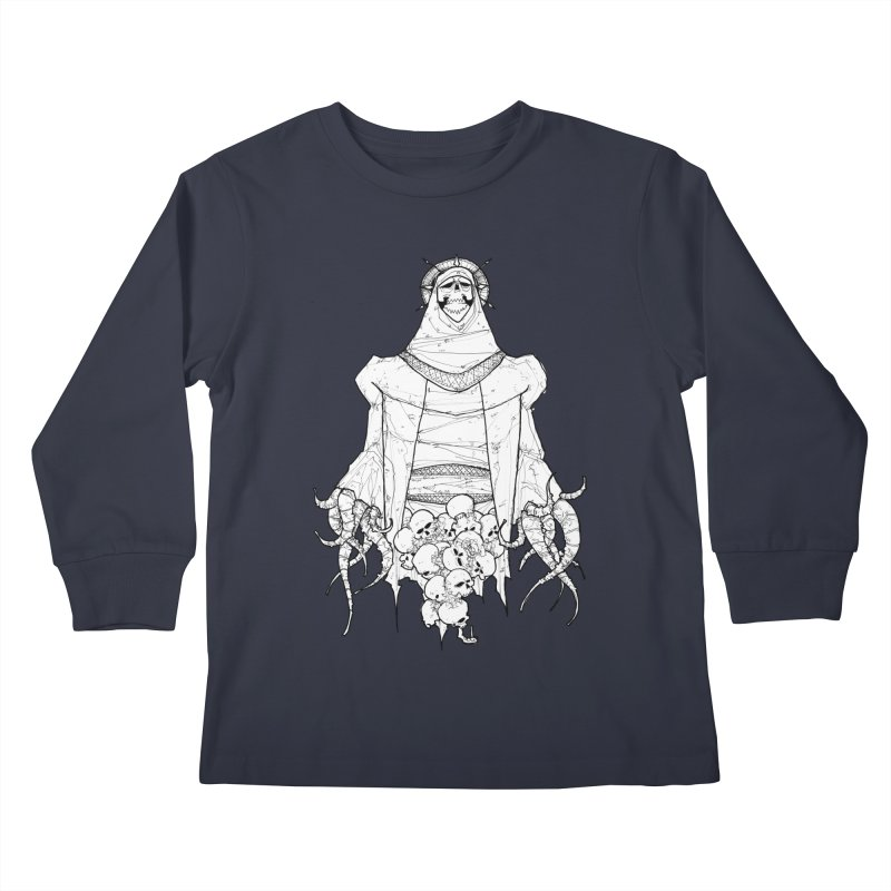 Preaching to Chiors Kids Longsleeve T-Shirt by Katiecrimespree's Ye Olde Shirt Shoppe